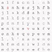 Typography texture
