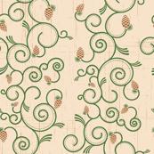 Pine Cone Swirls