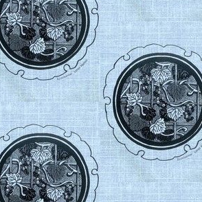 Grape vine Medallion
