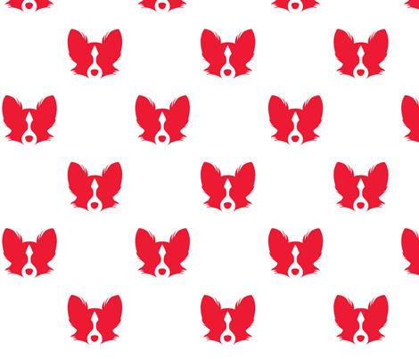 Papillon fabric by sosam on Spoonflower - custom fabric