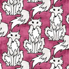 Arctic Fox II. Linen