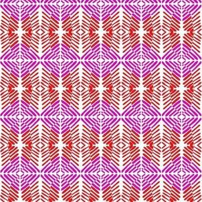 Weaving Red Purple
