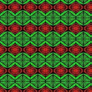 Holiday Linen Red Green