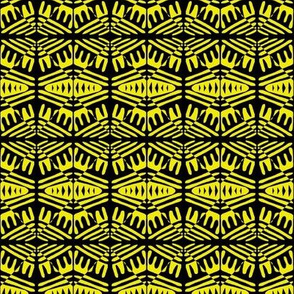 Tribal Visions Yellow Black