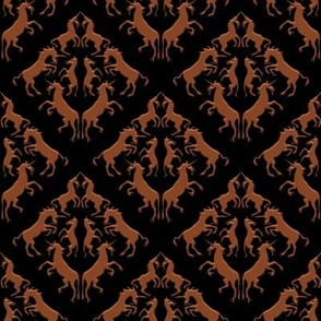 Unicorn Damask, Wood