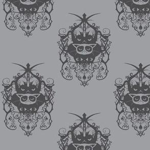 Grumpy damask - gray