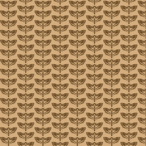 Death's Head Hawkmoth Fabric