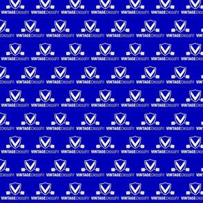 Vintage CrossFit Blue