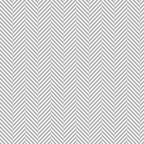 herringbone grey fabric by misstiina on Spoonflower - custom fabric