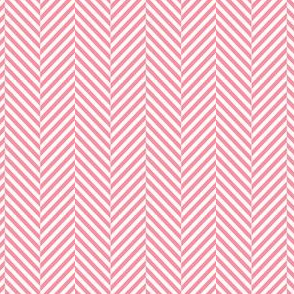 herringbone pretty pink
