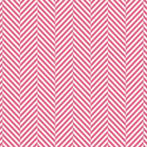 herringbone hot pink