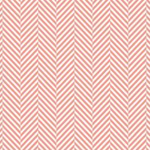 herringbone peach