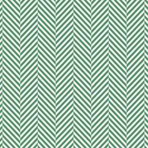 herringbone kelly green