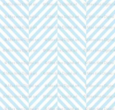 herringbone ice blue