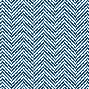 herringbone navy blue