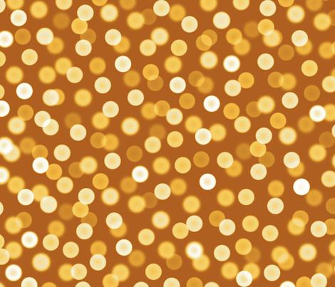 bokeh lights - Christmas gala fabric by weavingmajor on Spoonflower - custom fabric