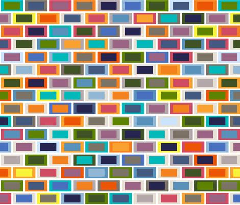 seaview bricks fabric by scrummy on Spoonflower - custom fabric