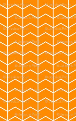 Chevron // orange