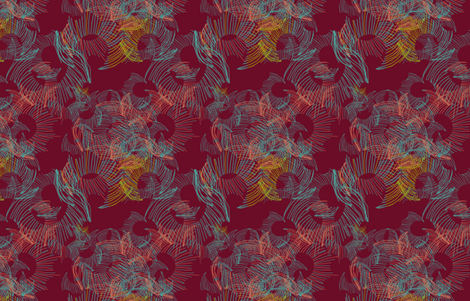 Merlot_Swirl fabric by katrina_ward on Spoonflower - custom fabric