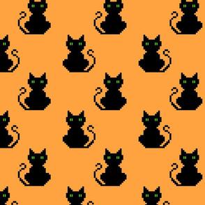 black cats (8 bit)