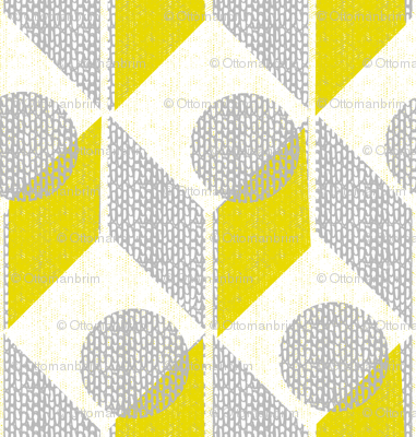 dots on tables-geometric-retro
