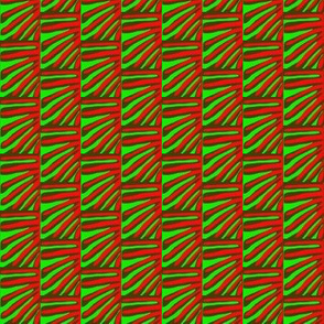Fronds Red Green