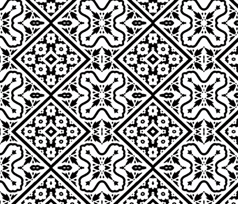 Inlaid Marble fabric by susaninparis on Spoonflower - custom fabric