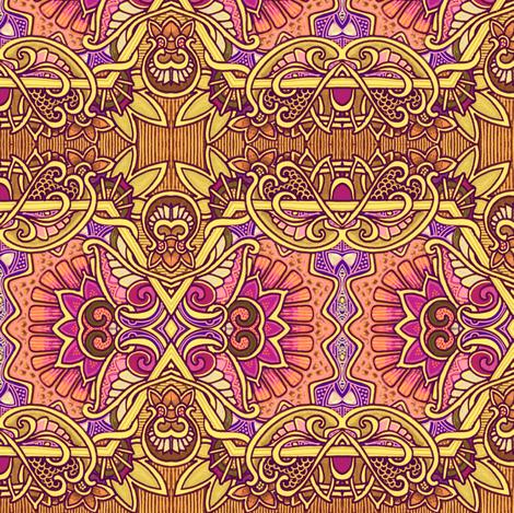 Autumn Garden #3485308 fabric by edsel2084 on Spoonflower - custom fabric