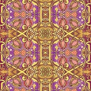 Bold Hexagon Abstract #3485317