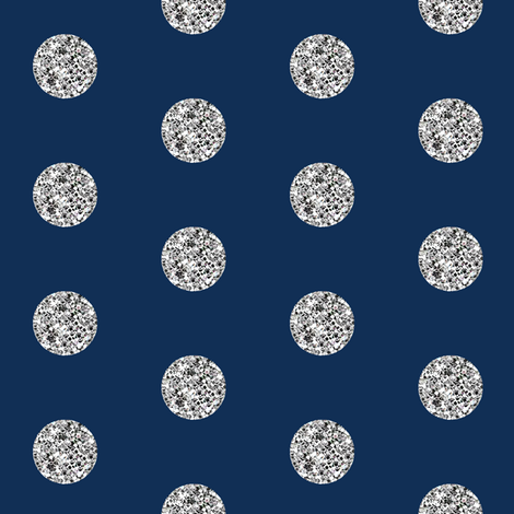 Navy blue glitter wallpaper
