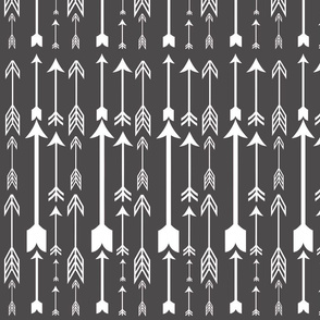 Arrows (Dark Gray and White)