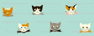 Vintage Kitties