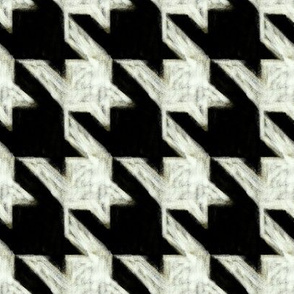 chalk houndstooth