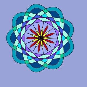 calendar spirograph motif