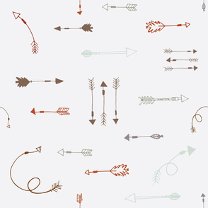 tribal arrows by poppyquinn.com