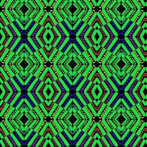 Patchwork Diamonds Multicolored