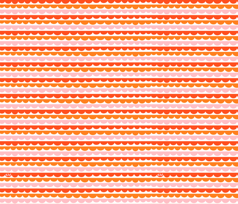 Awning Scallops fabric by studio_amelie on Spoonflower - custom fabric