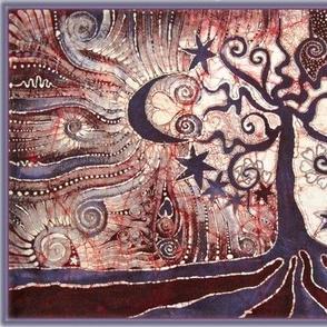 Moon Loves The Tree