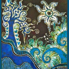 Trinidad Batik Oceanside