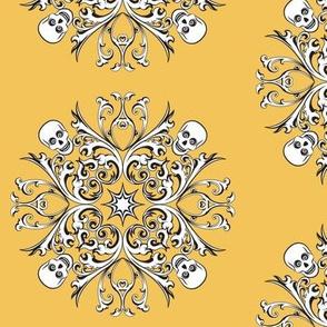 Skull_Motif_Yellow