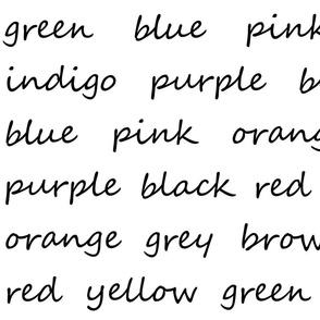 Script Colors