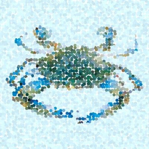 Nautical Blue crab