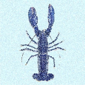 Nautical Blue lobster