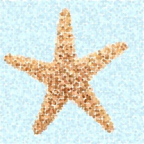 Nautical Sandy Starfish