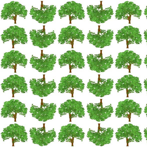 Happy Green Trees