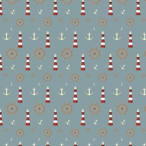 Away at sea print