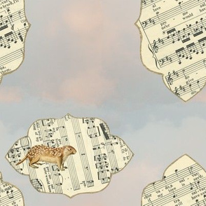 ground squirrel in the sky