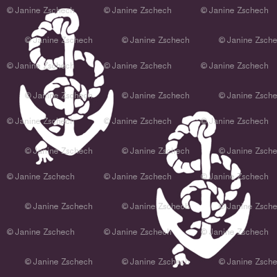 Anchors Burgundy