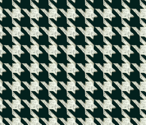 blackboard houndstooth fabric by nlsd on Spoonflower - custom fabric