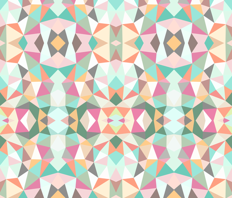 Ice Cream Tribal fabric by beththompsonart on Spoonflower - custom fabric